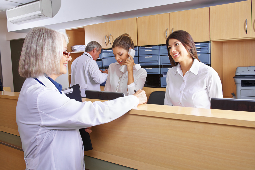 Are Patients Put Off By Doctor's Receptionists?-7360